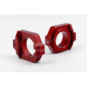 Red Elite Axle Blocks - 17-205