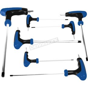 Performance Tool 7 Pc Metric T-Handle Set - W1712