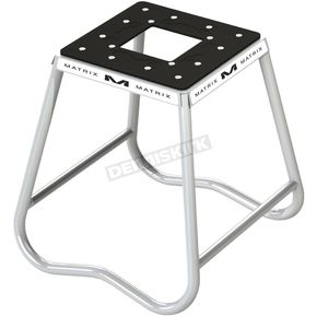 White C1 Steel Motorcycle Stand - C1-100