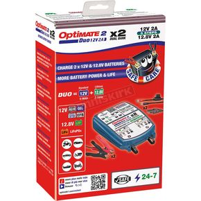 Optimate Duo Two Bank Bronze Series battery Charger - TM-571