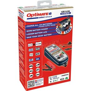 Optimate 6 Select Gold Battery Charger - TM-371