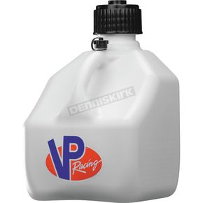 White 3 Gallon Square Utility Jug - 4174