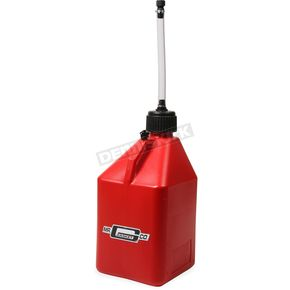 Red 5 Gallon Utility Jug w/Hose - 36950G