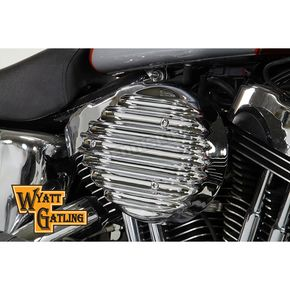 Wyatt Gatling Chrome Air Cleaner Assembly - 34-1701