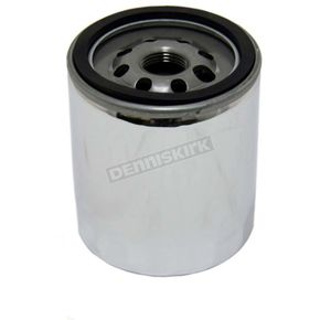 Chrome Oil Filter - 32-0023