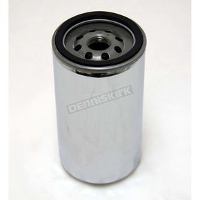 Extra Long Chrome Oil Filter - 32-0060