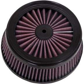 Vance & Hines Replacement Air Filter for Rogue/Cage Fighter Air Cleaner - D140FL-R