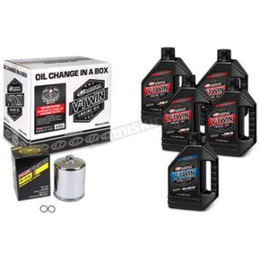 V-Twin Full Change Synthetic Oil Change Kit - 90-119015PC