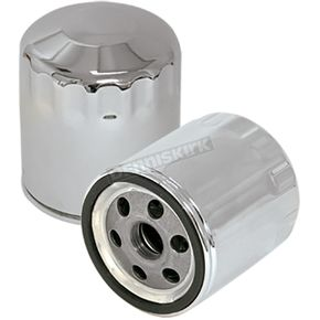 Chrome Oil Filter - 31-4102A