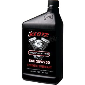 Klotz 20W50 Synthetic V-Twin Engine Oil - KH-2050