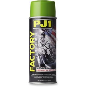 Factory Kawasaki Green Epoxy Paint - 17-KGO