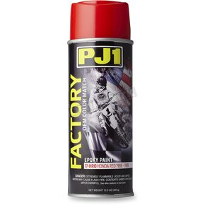 Factory OEM Honda Red Epoxy Paint - 17-HRO