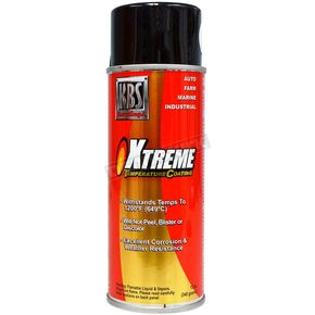 Jet Black XTC High Temperature Paint (12 oz.) - 65102
