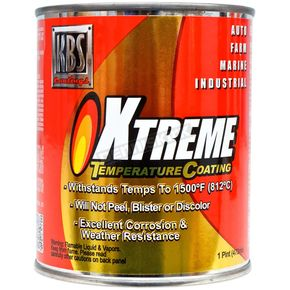 Jet Black XTC High Tempeature Paint (Pint) - 65302