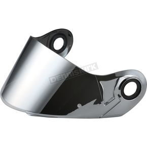 LS2 Chrome Shield for FF386/394 and Strobe Helmets - 02-053