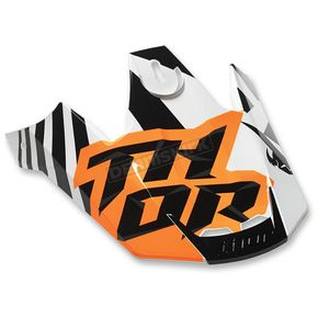 Thor Orange/White Verge Visor Kit - 0132-1003