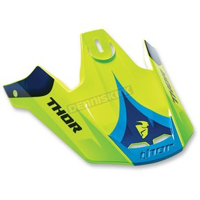 Thor Green/Navy Verge Visor Kit - 0132-1008