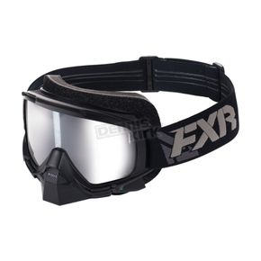 FXR Racing Black Mission Electric Goggle - 173103-1000-00