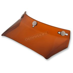 AFX Amber 3 Snap Long Float MX Visor - 0132-1033