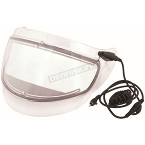 CKX Clear Double Lens Electric Shield for VG-1000 Helmets - 112060
