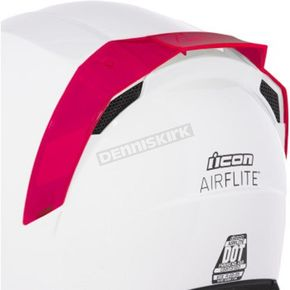 Red  Airflite Dayglo Rear Spoilers - 0133-1308