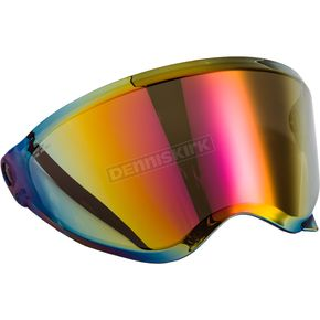 Red Iridium Single Lens Shield for AT21/S and AT21Y Helmets - 72-3114