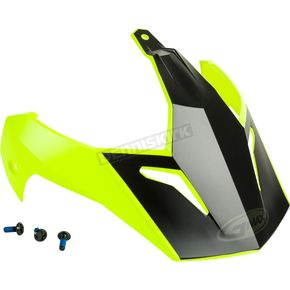 Matte Hi-Vis/Black Visor Kit w/Screws for GM-11 and GM-11S Scud Helmets - 72-3383