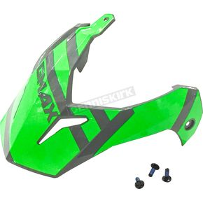 Gray/Neon Green Visor Kit w/Screws for GM-11 and GM-11S Trapper Helmets - 72-3390