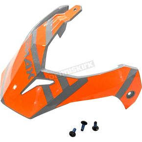 Gray/Orange Visor Kit w/Screws for GM-11 and GM-11S Trapper Helmets - 72-3395