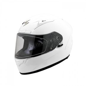 Scorpion White EXO-R2000 Helmet - 200-0057