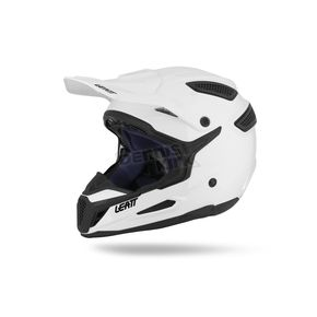 Leatt White GPX 5.5 Composite Helmet - 1015500081