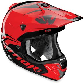 Thor Red/Black Converge Helmet - 0110-4279