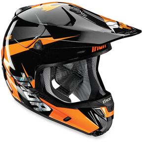 Thor Fluorescent Orange Verge Rebound Helmet - 0110-4292