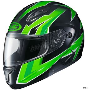 HJC Green/Black CL-Max 2 Ridge Helmet - 989-948