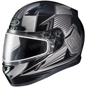 HJC Black/Gray CL-17SN MC-5 Striker Helmet w/Frameless Dual Lens Shield - 57-19379Z