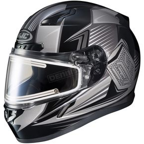 HJC Black/Gray CL-17SN MC-5 Striker Helmet w/Frameless Electric Shield - 57-29379