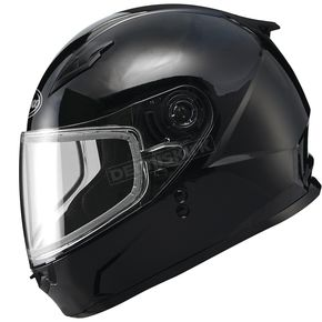 GMax Youth Black GM49Y Snowmobile Helmet - 72-5970YM