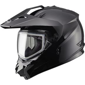 GMax Black GM11S Snow Sport Snowmobile Helmet - 72-7120M