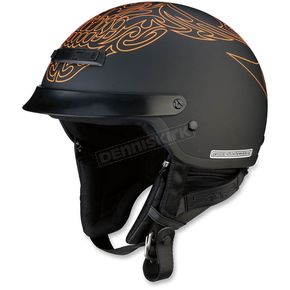 Z1R Black/Orange Nomad Tribal Helmet - 0103-1159