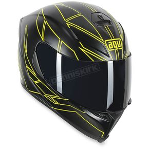 AGV Black K5 Hero Helmet - 0041O2G000511