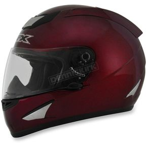 AFX Wine Red FX-95 Helmet - 0101-8533
