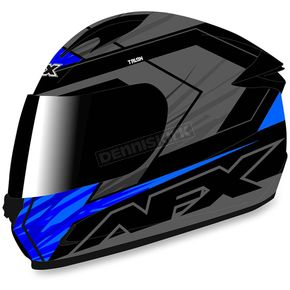 AFX Black/Blue FX-24 Talon Helmet - 0101-8665