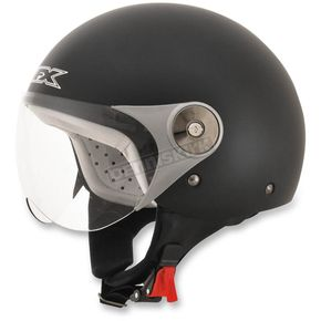 AFX Youth Black FX-33 Scooter Helmet - 0107-0001