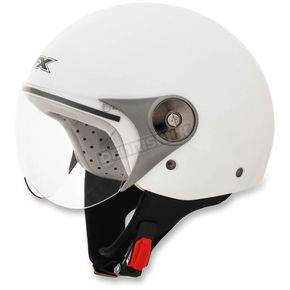 AFX Youth Pearl White FX-33 Scooter Helmet - 0107-0005