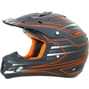 AFX Safety Orange FX-17 Mainline Helmet - 0110-4438