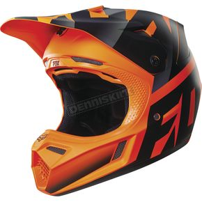 Fox Orange Shiv V3 Helmet - 14939-009-S