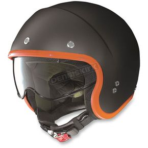 Nolan Flat Black/Orange N21 Durango Helmet - N2N5274140066