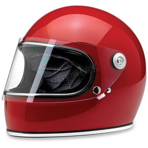 Biltwell Gloss Red Gringo S Helmet - GS-BLD-GLRED-XL