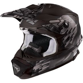 FXR Racing Matte Black/Charcoal Blade Clutch Helmet - 16417.20107