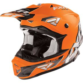 FXR Racing Matte Orange Blade XPE Helmet - 16401.30007